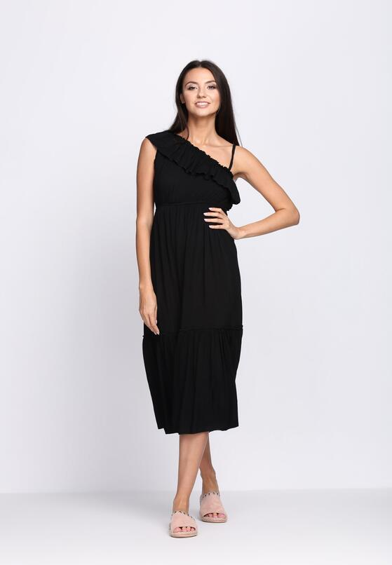 Czarna Sukienka On High