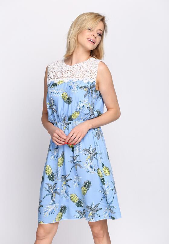 Jasnoniebieska Sukienka Gust of Wind