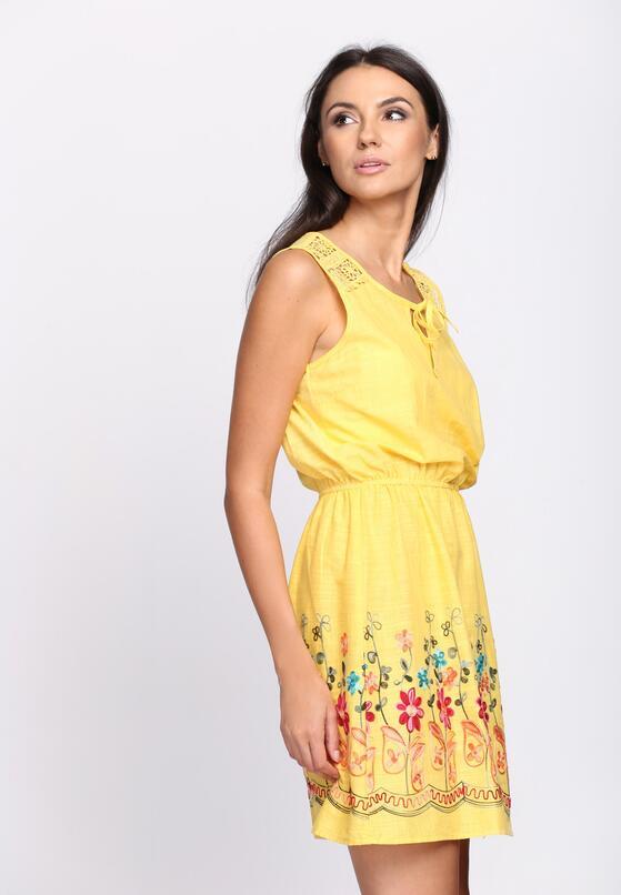 Żółta Sukienka She Is The One