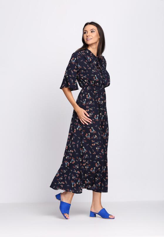Granatowa Sukienka Rewear It