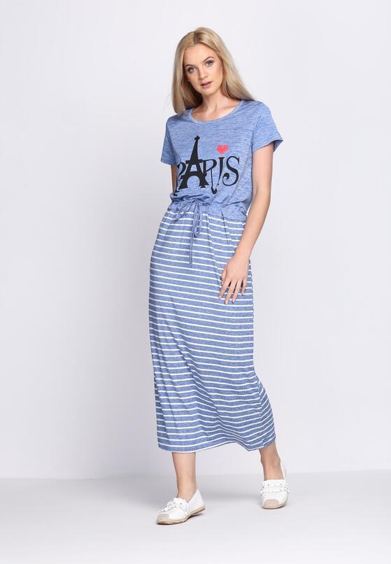 Niebieska Sukienka Intention
