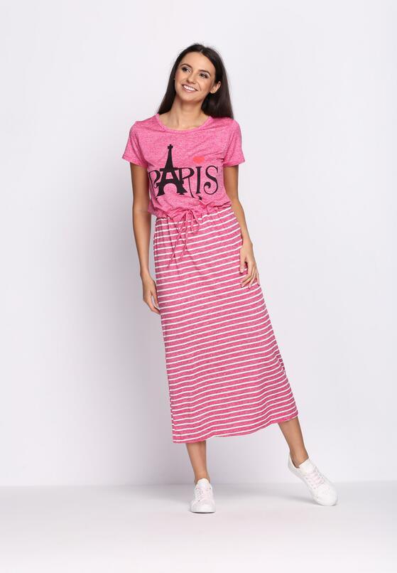 Różowa Sukienka Intention