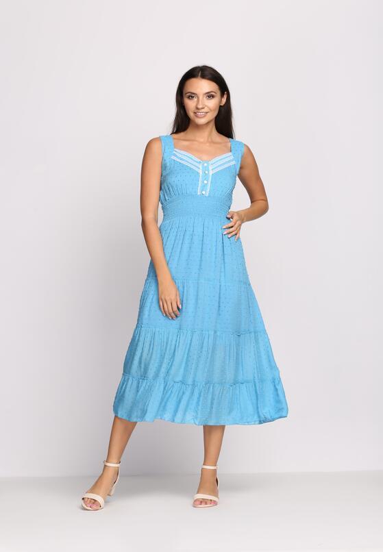 Niebieska Sukienka Not Without You