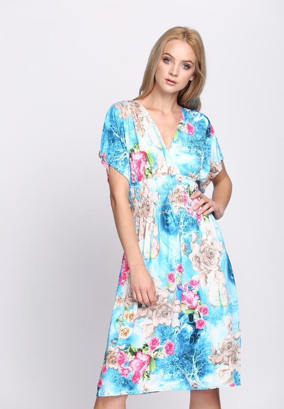 Jasnoniebieska Sukienka Love Infinity