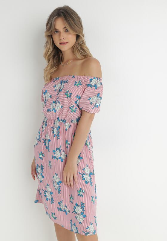 Różowa Sukienka Sleeping Powder