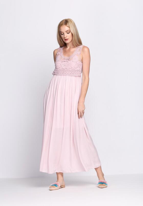 Różowa Sukienka Anarchy