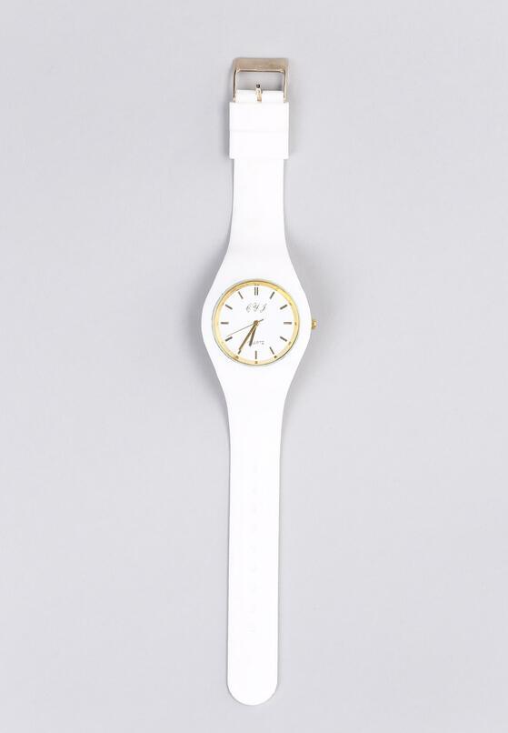 Biały Zegarek Old Time