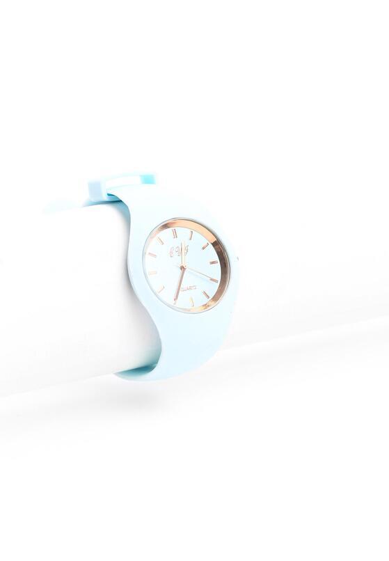 Niebieski Zegarek Old Time