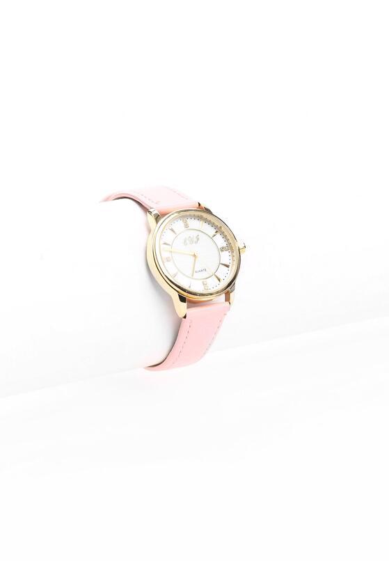 Różowy Zegarek Last Letter