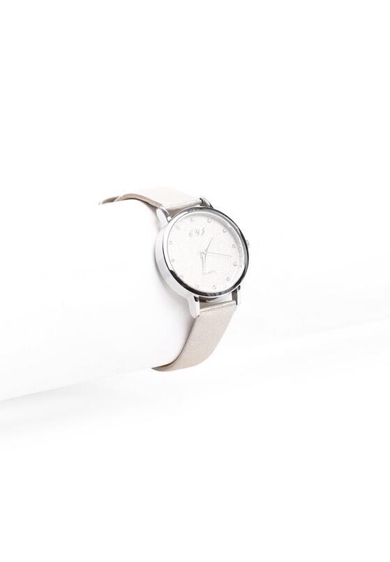Beżowy Zegarek Deleted
