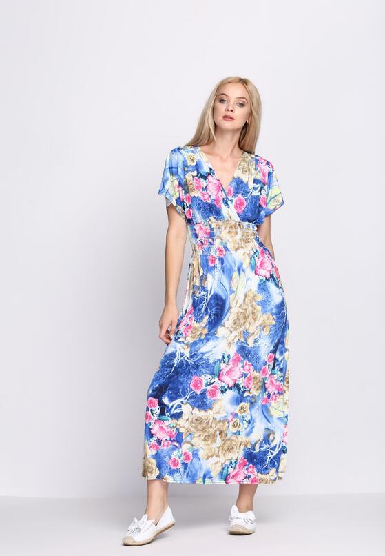 Niebieska Sukienka Swift