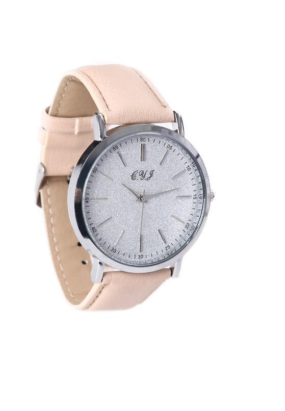Beżowo-Srebrny Zegarek You Have Lost