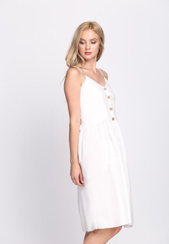 Biała Sukienka Love and Hate