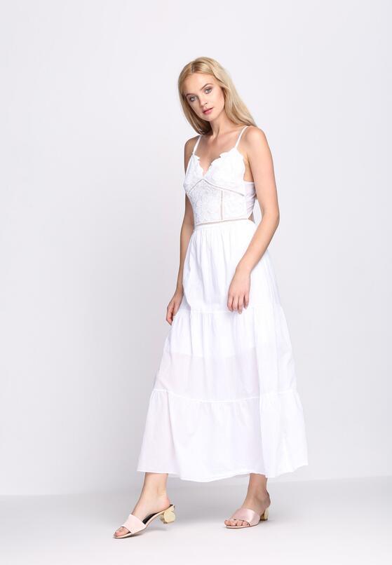 Biała Sukienka Warrior of Ligh