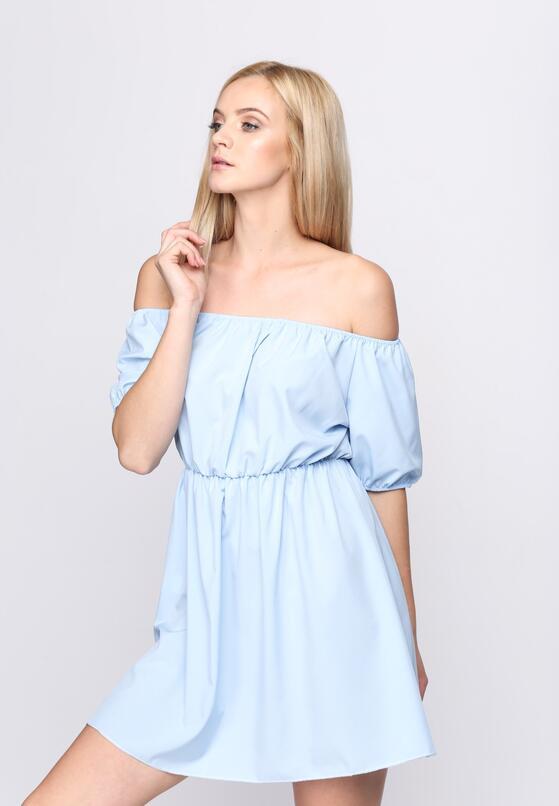 Niebieska Sukienka Motion