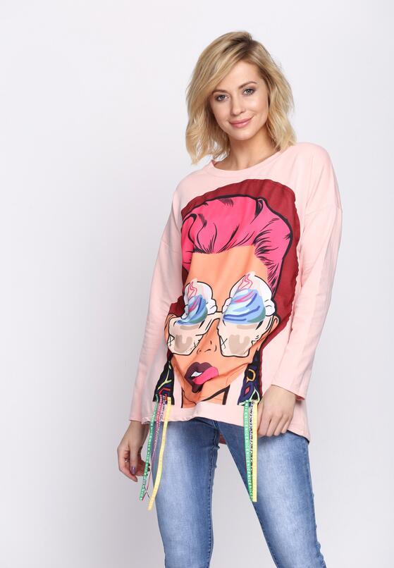 Różowa Bluza Paramore