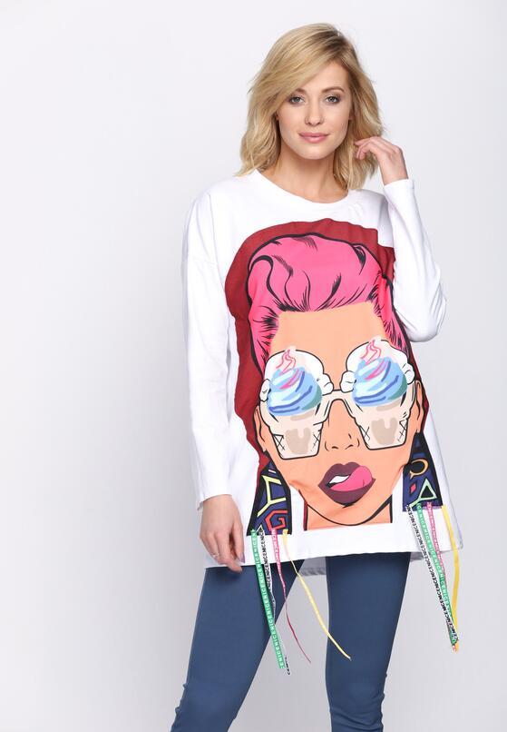 Biała Bluza Paramore