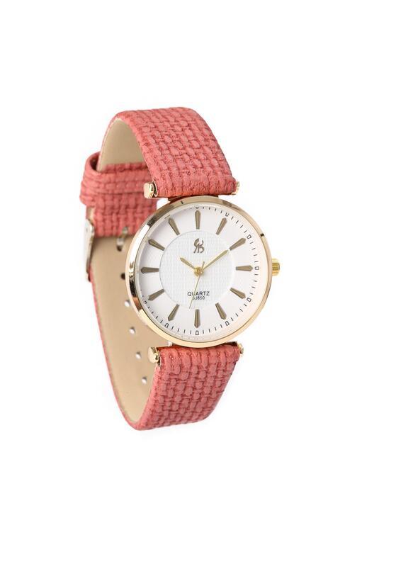Różowo-Złoty Zegarek Missing
