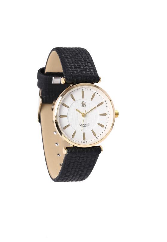 Czarno-Złoty Zegarek Missing