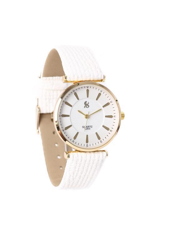 Biało-Złoty Zegarek Missing