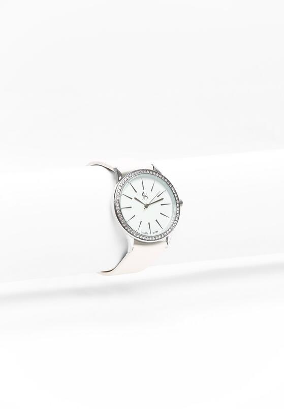 Biało-Srebrny Zegarek Next Mistake