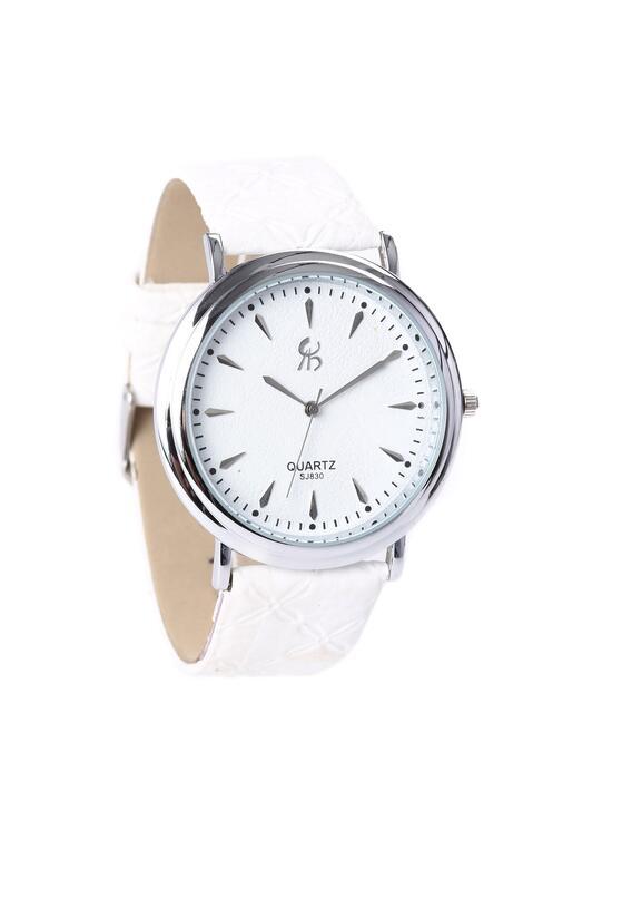 Biało-Srebrny Zegarek Con Join
