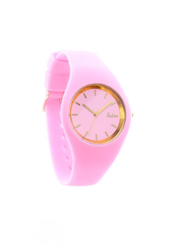 Różowy Zegarek Old Time