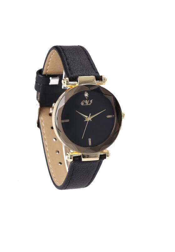 Czarno-Złoty Zegarek Snap To It