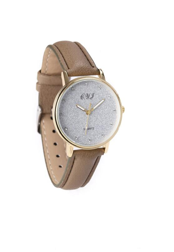 Beżowy Zegarek Exist