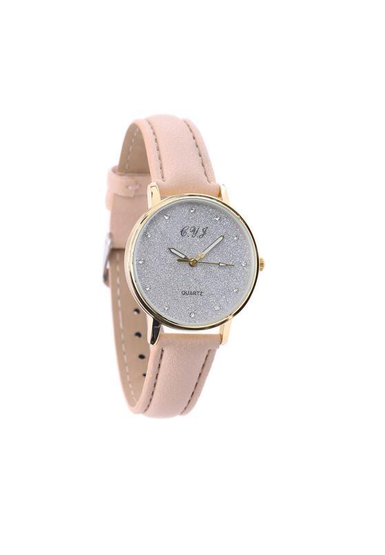 Jasnobeżowy Zegarek Exist