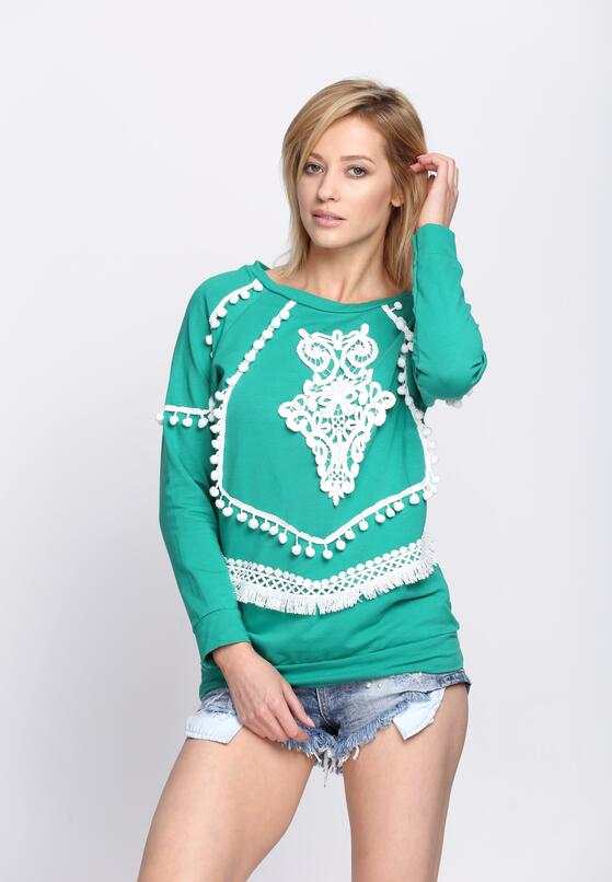Zielona Bluza Pocahontas