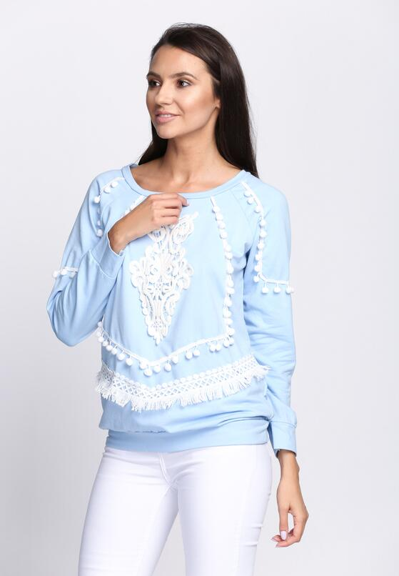 Niebieska Bluza Pocahontas