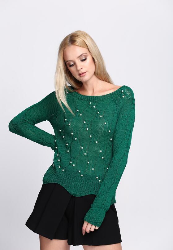 Zielony Sweterek Under The Moon