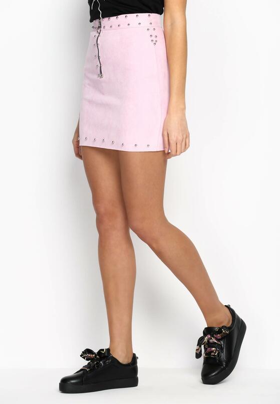 Różowa Spódnica Rocks Star