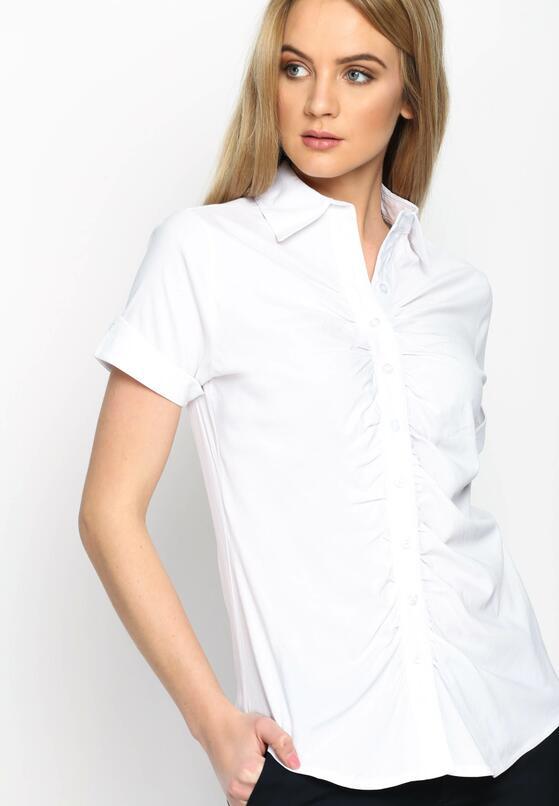 Biała Koszula Drapery