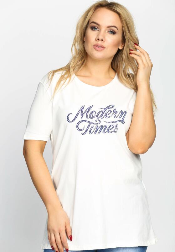 Biały T-shirt Modern Times