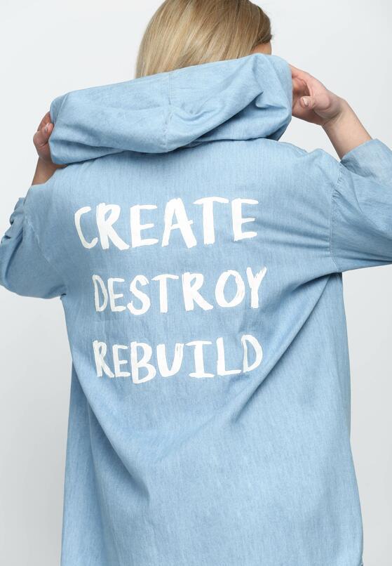 Jasnoniebieska Bluza Rebuild