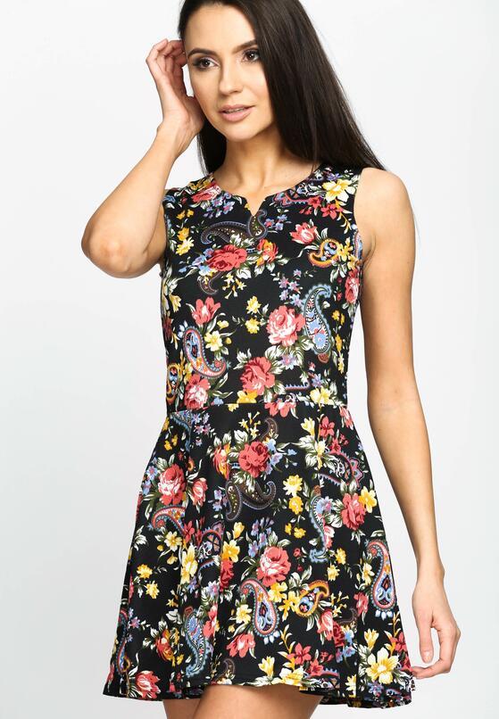 Czarna Sukienka Lady Spring
