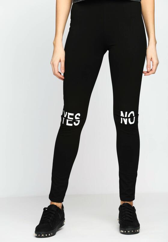 Czarne Legginsy Yes Or No