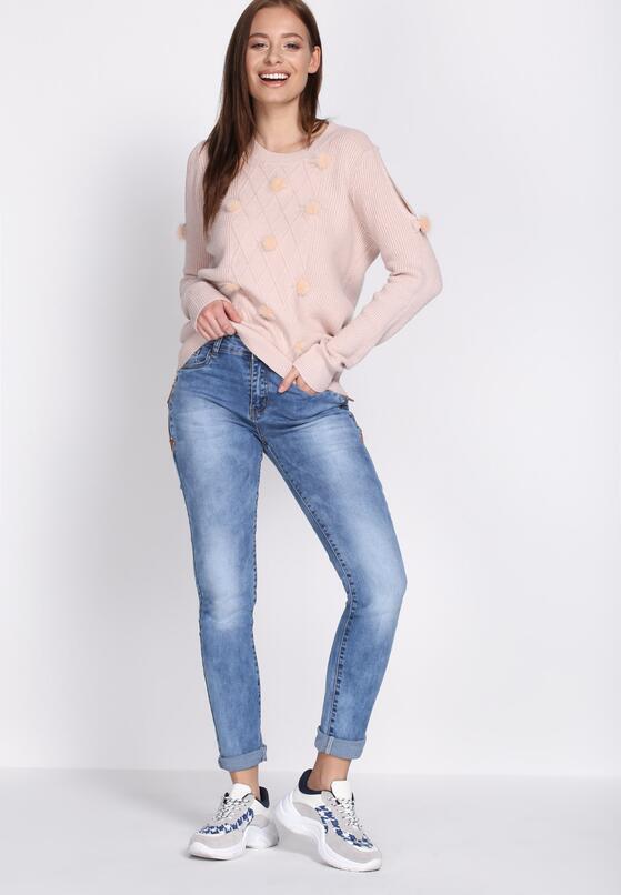 Niebieskie Jeansy Improved