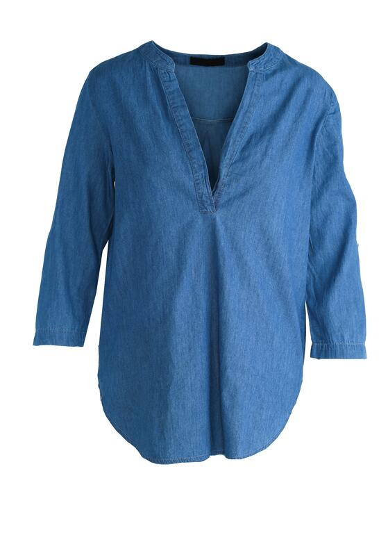 Ciemnoniebieska Koszula Nice Thing