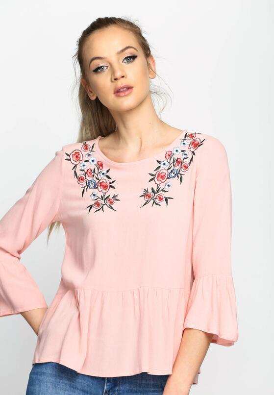 Różowa Bluzka Airy Flower