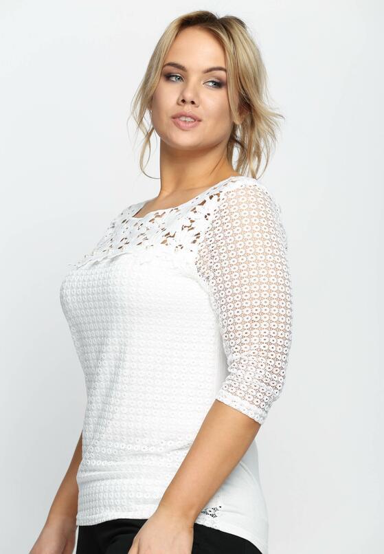 Biała Bluzka Transparent