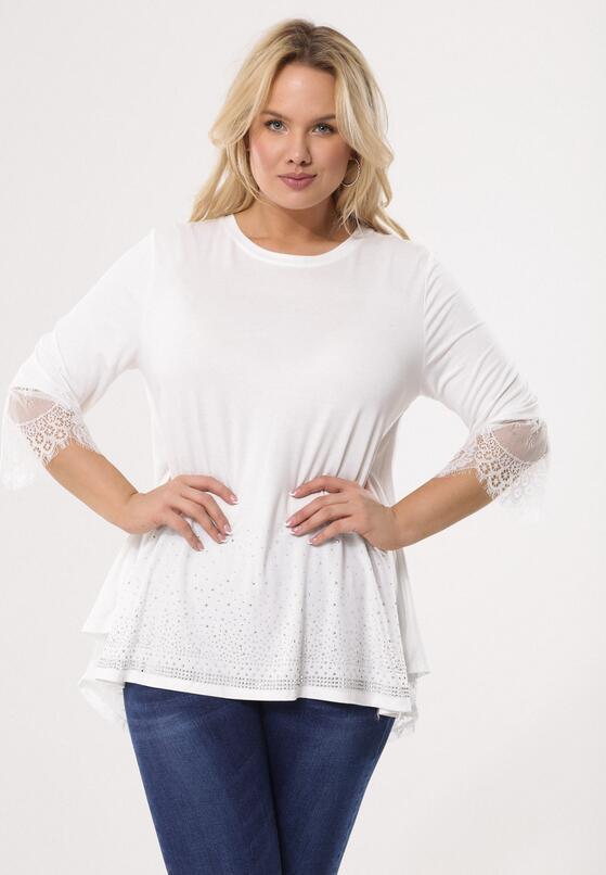 Biała Bluzka Casually