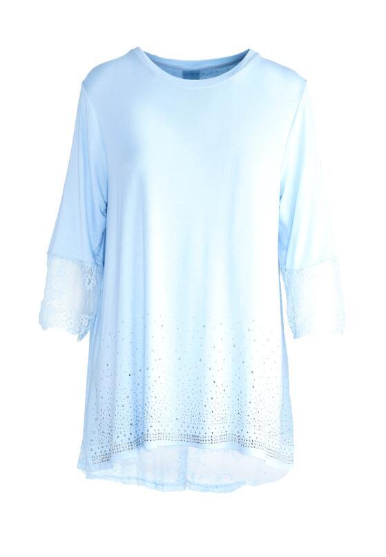 Niebieska Bluzka Casually