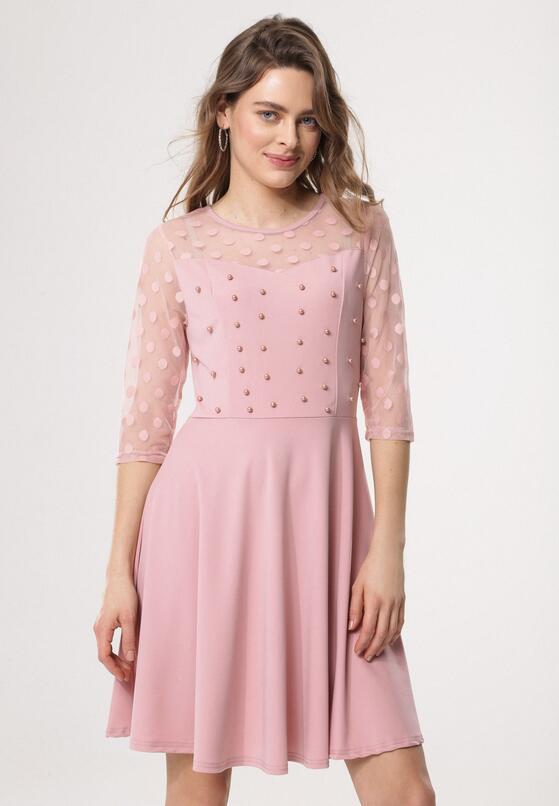 Różowa Sukienka Love Dance