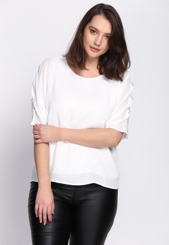 Biała Bluzka As For Me