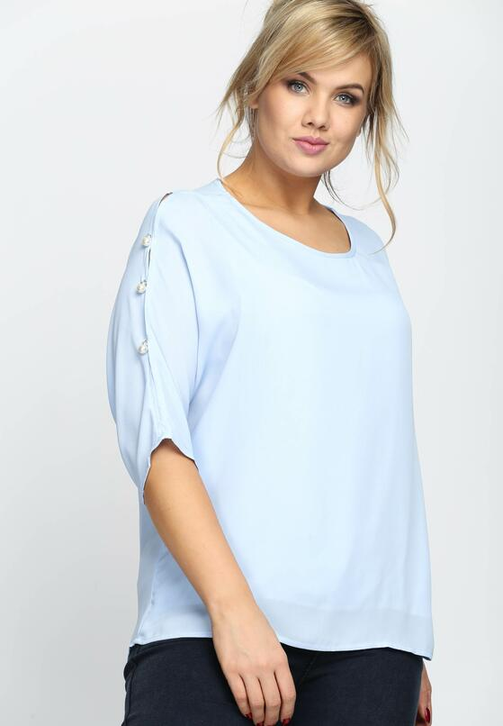 Niebieska Bluzka As For Me