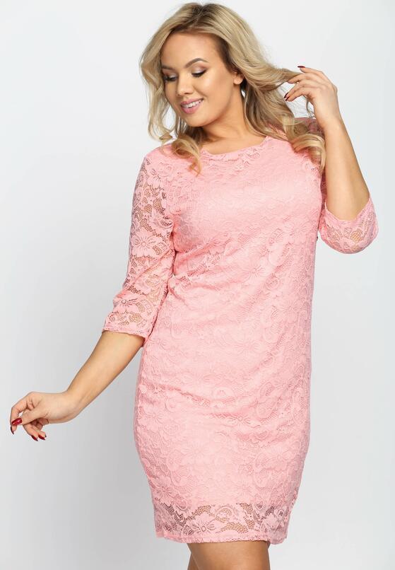 Łososiowa Sukienka Sensual