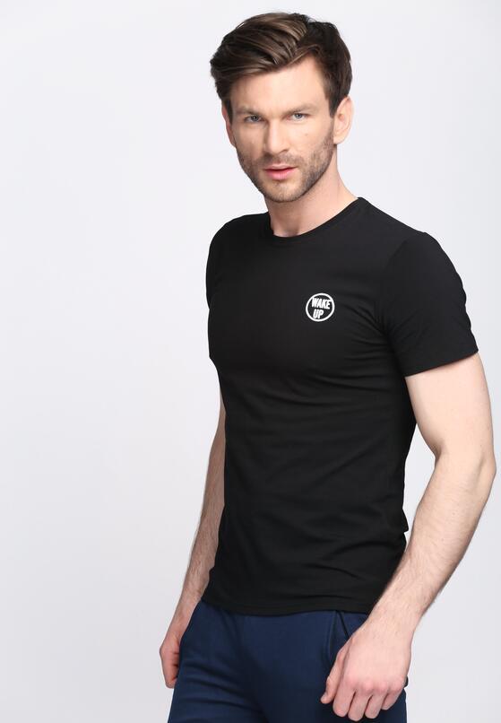 Czarna Koszulka Go After